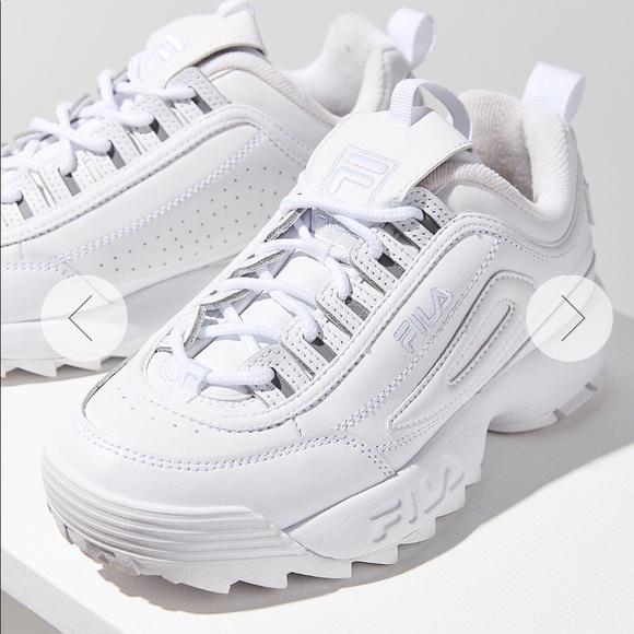 a8050526a57a Fila Shoes - Fila Disruptor 2 in WHITE!